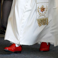 Pope-shoes