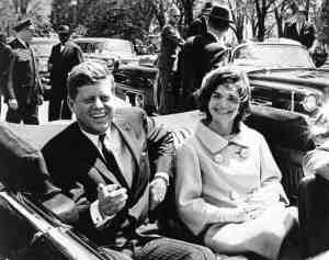 John F. and Jacqueline Kennedy