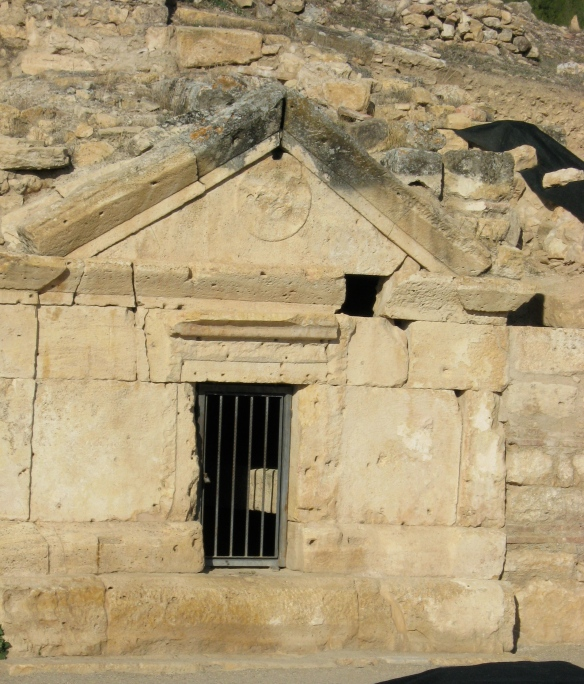 Because I like biblical Philip, and this, apparently, is his tomb; in Hierapolis.